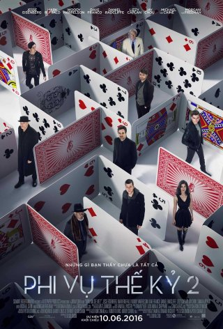 Phim Phi Vụ Thế Kỷ 2 - Now You See Me 2 (2016)