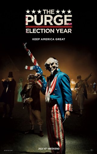 Phim Ngày Thanh Trừng 3 - The Purge: Election Year (2016)