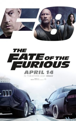 Phim Quá Nhanh Quá Nguy Hiểm 8 - The Fate Of The Furious (fast & Furious 8) (2017)