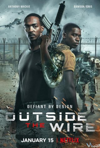 Vùng Chiến Sự Hiểm Nguy - Outside The Wire (2021)